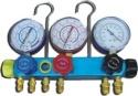 Baterie manometre corp aluminiu  AUTO 4 robineti CT272G Termo Dinamic
